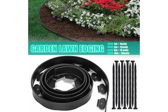 No Dig Garden Lawn Edging Strip Border Landscaping Grass Flower Bed Pathway Pegs