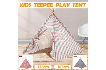 165 CM Teepee Tent Kids Cotton Play Tent Indoor Cubby House Toy Playhouse(pinkgreen,165 cm)