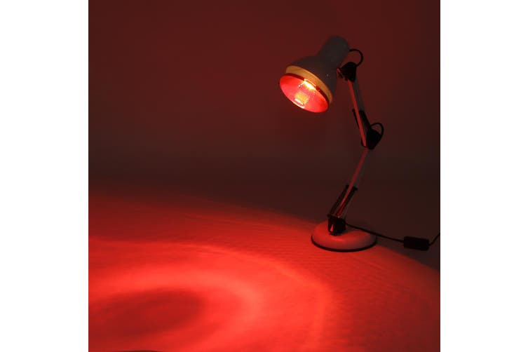 Anti-Aging Infrared Lamp Light Therapy Heat Floor Heat Lamp 100W