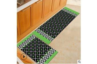 2PCS Home Kitchen Floor Mat Non Slip Anti Fatigue Rug Set Bath Door Decoration