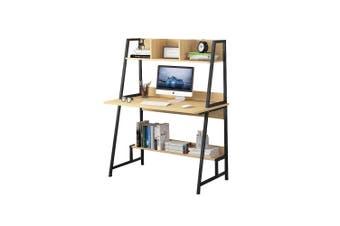 Computer Desk Table Bookshelf Study Workstation Storage Cabinet Home Office