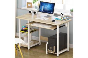 Office Computer Desk Student Study Table Workstation Corner Storage Durable Home DIY 3 colors 100x40x73CM