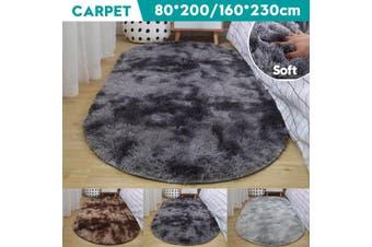 230cmx160cm Shaggy Area Rugs Floor Carpet Living Room Soft Fully Large Rug Home