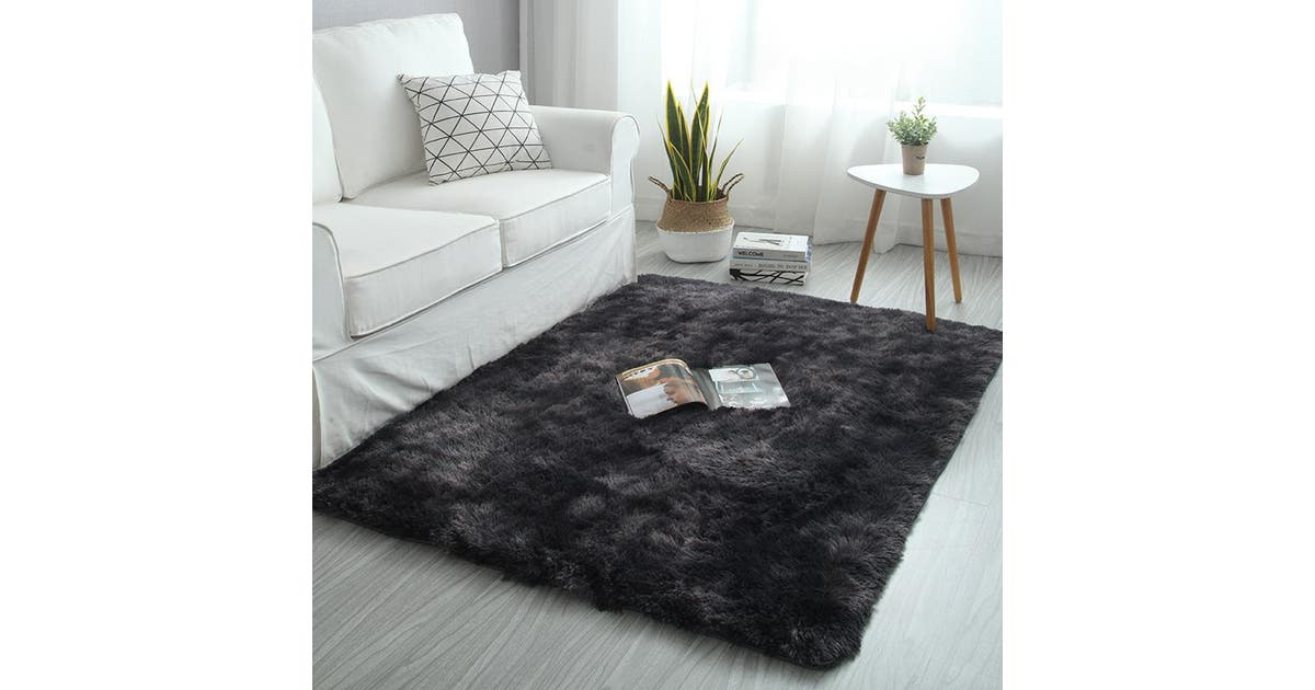 80 160cm Large Size Motley Plush Carpets For Living Room Soft Fluffy Rug Home Decor Shaggy Carpet Bedroom Sofa Coffee Table Floor Mat Cloakroom Rugs Kogan Com