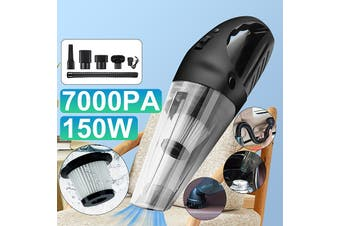 7000pa/6500/600/5500PA 120/150W Car Vacuum Cleaner Wet & Dry Rechargeable Cordless Automatic Mini Handheld Dust Quick Clean