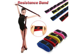 Latin Yoga Resistance Elastic Band Stretch fitness Sport Pull Rope Latin dance