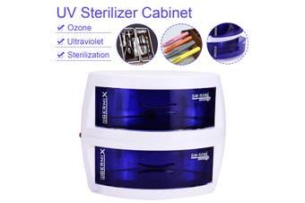 UV Sterilizer Cabinet Dual-layer Push-Pull Drawer Disinfecting Machine Household