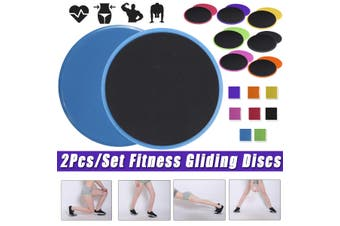 2Pcs/Set Fitness Round Gliding Discs Core Sliders Dual Sided Home Gym