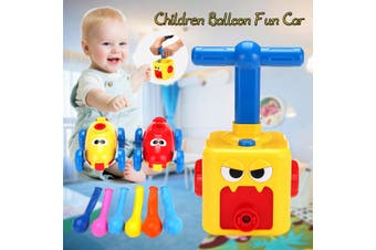 Air Powered Balloon Car Glide Press Children Blow Balloon Puzzle Science Funny Toy for Baby Kids