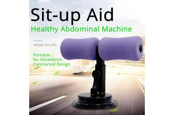 Portable Aid-Accessories Multi-Function Self-Suction Situp bar Appliance Household Fitness Equipment Adjustable Sit-Up Bar Auxiliary Appliance for Abdominal Muscle Exercise Machine