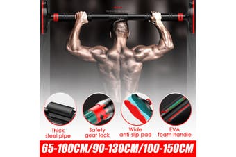 Pull Up Bar Home Fitness Workout Body Training Equipment Chin Up Bar