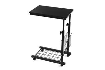 Liftable Bed Computer Desk Laptop Computer Desk Removable Rack Storage Table Bearing Capacity 30kg