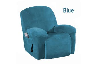 Velvet Super Soft Stretch Recliner Slipcover Armchair Cover Couch Protector