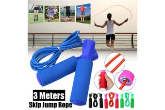 1/2PCS 3m Adjustable Skipping Jump Rope Fitness Exercise Jumping Sports Gym Weight Loss