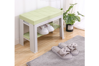 Thickened PP Stool Rack Storage Box Organiser Shelf Stand Shoe Cabinet Bench