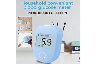 Blood Glucose Tester Home Test Strip 50 Pieces Of Blood Glucose Measuring Instrument Glucometer Sugar Tester Strips Monitor Diabetes Needles Suitable for The Elderly (50 test strips + 50 needles)(50xtest strips 50xneedles)