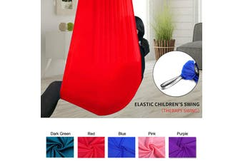 Soft Sensory Swing Hammock Fit for Kids W/ ADHD,ADD,Autism and Down Syndrome New(red,1 m)