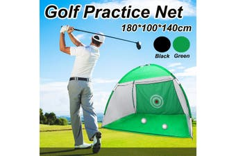 2M Green Black Supersized Golf Practice Net Outdoor Home Garden Training Aid Bag