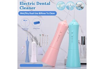 Rechargeable Oral Irrigator Portable USB Dental Irrigator Water Flosser 3 Models 5 Jet Nozzles Water Teeth Pick Flosser Water Jet Teeth Cleaner Tooth Floss