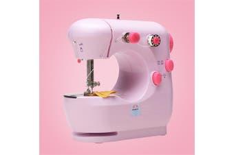 Mini Portable Electric Sewing Machine Desktop Handheld Automatic Tread Rewind For DIY Stitch Clothes Fabric