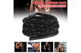 12M-38mm Battle Rope Workout Training Undulation Rope Exercise Fitness Rope