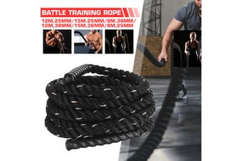 9M -38mm Battle Rope Workout Training Undulation Rope Exercise Fitness Rope