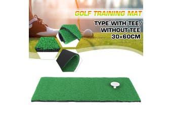 Portable Golf Practice Grass Mat Fairway Mat Training Mat 30×60cm Children's Golf Mat 30x60cm (with TEE)