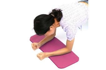 60x25x1.5cm MINI Yoga Knee Pad Cushion Anti-Slip 15mm Thick Workout Exercise Travel Mat Workout Fitness Mat NBR(pink,60x25x1.5cm)