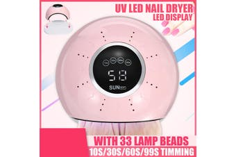 36W/200W Nail Dryer Lamp UV LED Smart Induction Timing/Foldable Gel Polish Curing Manicure Nail Art USB Lamp