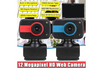 12 Megapixel HD Free Drive 480P USB Digital Full Web Camera For Home Work Chat Teaching Class