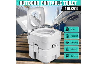 10L / 20L Portable Camping Toilet Outdoor/Indoor Potty Commode Garden Hiking
