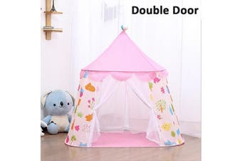 Kids Castle Tent Children Tent Indoor Home Playhouse Game Mini Castle Tent For Kids