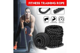 50ft 38mm Heavy Battle Rope Fitness Climbing Training Undulation Exercise