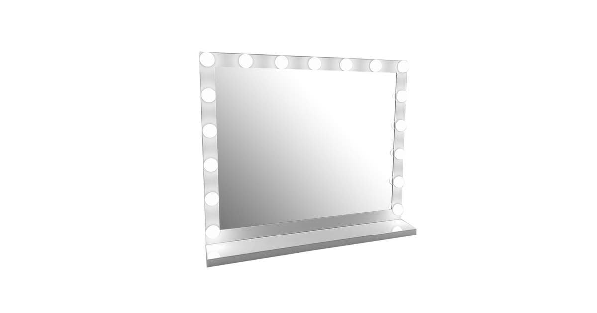 Smith Embellir Makeup Mirror, Embellir Hollywood Makeup Mirror With Light Led Bulbs Vanity Beauty