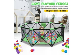 Babys Safety Tent Playpen Fence Safety Barrier Game Playard Infants Kids Indoor Home