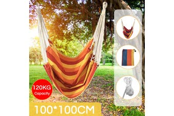 Hammock Chair Quick-drying and Crease-proof for Outdoor BBQ Courtyard Dormitory(A)