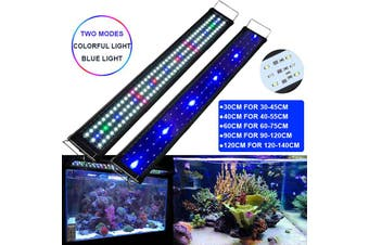 Aquarium LED Lighting Full Spectrum Fish Tank Lights Over-Head Lamp (90CM)