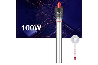 Tropical Fish Tank Aquarium Heater Stainless steel 25W/50W/100W/200W/300W/500W With Thermometer