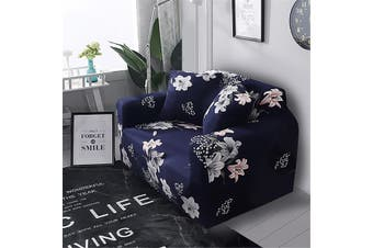 Sofa Cushion Cover Flower Flower Print Full Cover Stretch 1 2 3 Seater Elastic Couch Cover Spandex Protector (sofa cushion cover)
