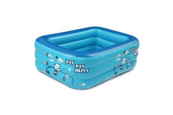 Large Swimming Pool Outdoor Garden Summer Inflatable Kids Paddling Pools (150CM)