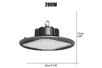 100W/150W/200W LED UFO Hallenleuchte Deckenleuchte Strahler Industrielampe High Bay Fluter IP65 6500K 110LM/W