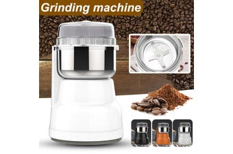 Electric Coffee Grinder Maker Grinding Milling Bean Spice Salt Pepper Grinder (black)