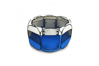 Pet Playpen Dog Play Pens Foldable 8 Panel Tent Cage Portable Puppy Crate