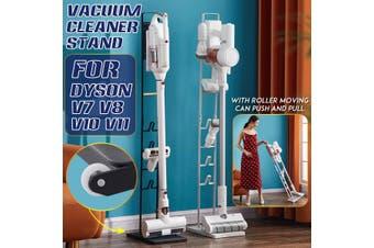 Vacuum Cleaner Stand Freestanding Cordless Stand Floor Rack For Dyson V7 V8 V10 V11 Xiaomi(white)