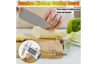 Bamboo Kitchen Cutting Board Wood Chopping Board / Butcher Block -- S / M / L