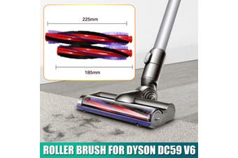 225mm Roller Brush For Dyson DC59 V6 Animal Cordless Vacuum Cleaner Accessories(1PC 225mm Roller Brush)
