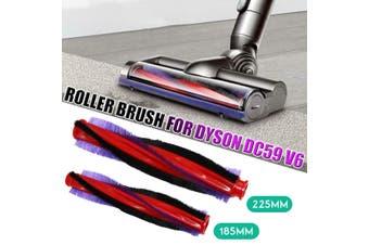 185mm Roller Brush For Dyson DC59 V6 Animal Cordless Vacuum Cleaner(1 PC 185mm Roller Brush)