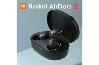 Original Xiaomi Redmi Airdots 2 TWS Earphone Wireless bluetooth 5.0 Stereo Quick Link Voice Control