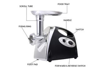 220V 2800W Electric Meat Grinder Sausage Maker Household Food Mincer Machine Multifunction Meat Cutter (AU Plug)