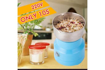 [10s Fast Grinding] 800W Household Electric Coffee Grinder Coffee Bean Grinder Food Grain Grinder Grinding Machine Stainless steel 110/220V